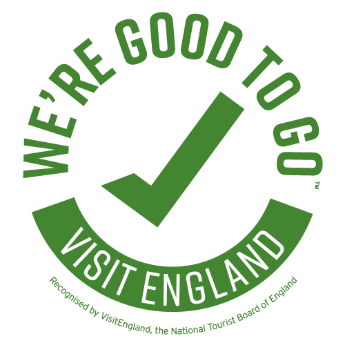 Visit England We're Good To Go certificate